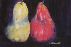 Southtowns Watercolor Salon Award: Patricia S. Bennet, Just the Two of Us