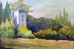 Meibohm Fine Arts Conservation Award: Sandra Bemisderfer, Spanish Tower