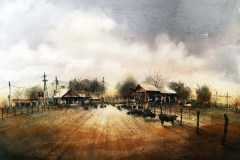 Treanor Studio Award for Color Harmony: Tim Oliver, Purebred Herd in the Home Pasture