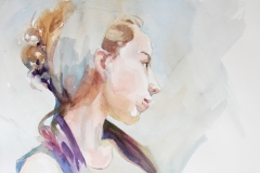 BPAC International Center for Watercolor Honorable Mention: Valerie Larsen, Thinking of You