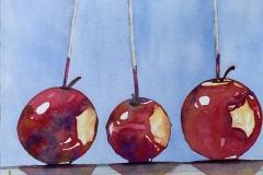 The Hilda Ludwig Award for Still Life Winner Catherine Skerker's Apple of My Eye