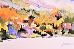 The Marienthal Country Inn Inspirational Award Winner Ric Feeney's Mirror Lake (Lake Placid, NY)