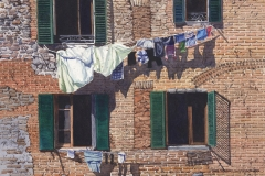 First Place Award Winner, Wash Day, Italy by E. Jane Stoddard