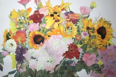 Third Place Award Winner, Happy Floral by Frederick Raiser
