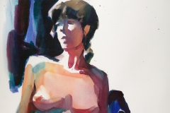 Don-Andrews- Female Nude 28 x 36 Price $1400