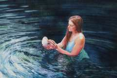 "Barbara Fox, Gift of the Sea, 9"" x 12"" image"