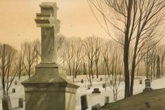 "Thomas Dalbo, Resting in Peace, 10"" x 14"" image"