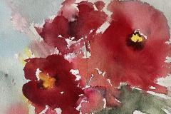 """Poppy Burst"" by Linda Scarafia-Davis, NFS"