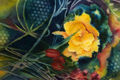 """""""Deep in the Garden"""" by Sandy Ludwig, $400"""