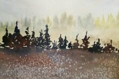 """Depth"" by Rebecca Maynard, $400"