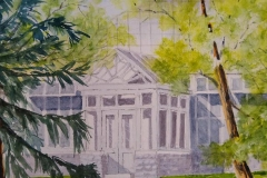 """North Side Entrance"" by Dan McGrath, $260"