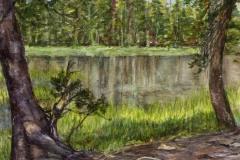 """""""Yosemite View"""" by Susan Palys, $400"""