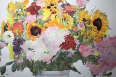 """Happy Floral"" by Fritz Raiser, $3500"
