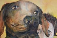"""Kezia"" by Audrey Ross Sanders, nfs"