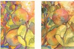 """""""Triad Triptych"""" by Carol Case Siracuse, $350"""