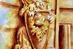 """""""Golden Lion"""" by Michael Wickham, $200"""