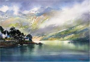 "Thomas W. Schaller's ""Norwegian Landscape"""